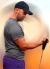 Bíceps con banda elástica